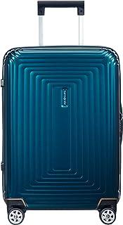 Samsonite Neopulse - Spinner S (Largeur : 23 cm) Bagage à Main, 55 cm, 44 L, Bleu (Metallic Blue)