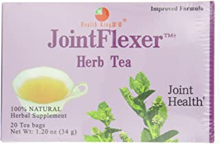 Health King Jointflexer Herb Tea, Teabags, 20-Count Box (Pack of 4)