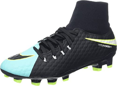 Nike Hypervenom Phelon 3 Dynamic Fit FG, Chaussures de Football Femme