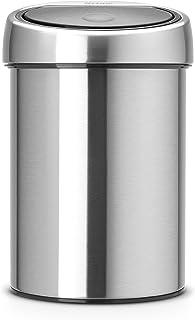 Brabantia 363986 Poubelle Touch Bin Seau Intérieur Plastique 3 L Matt Inox