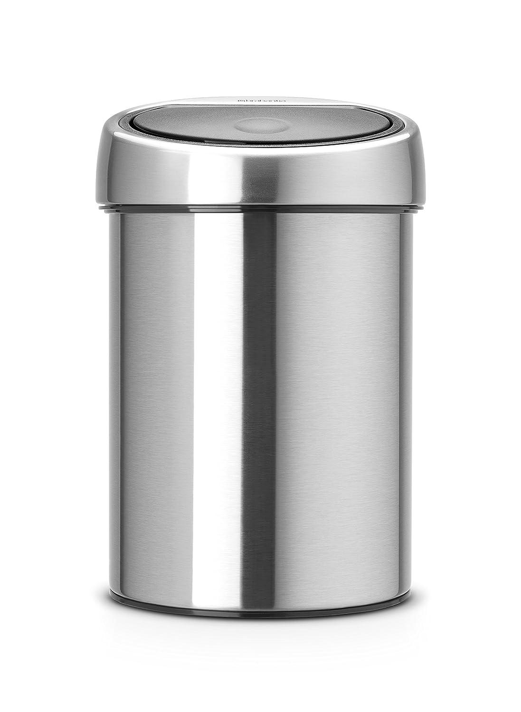 Brabantia Touch Bin with Plastic Bucket Litre Matt - Steel Max 60% OFF 3 specialty shop