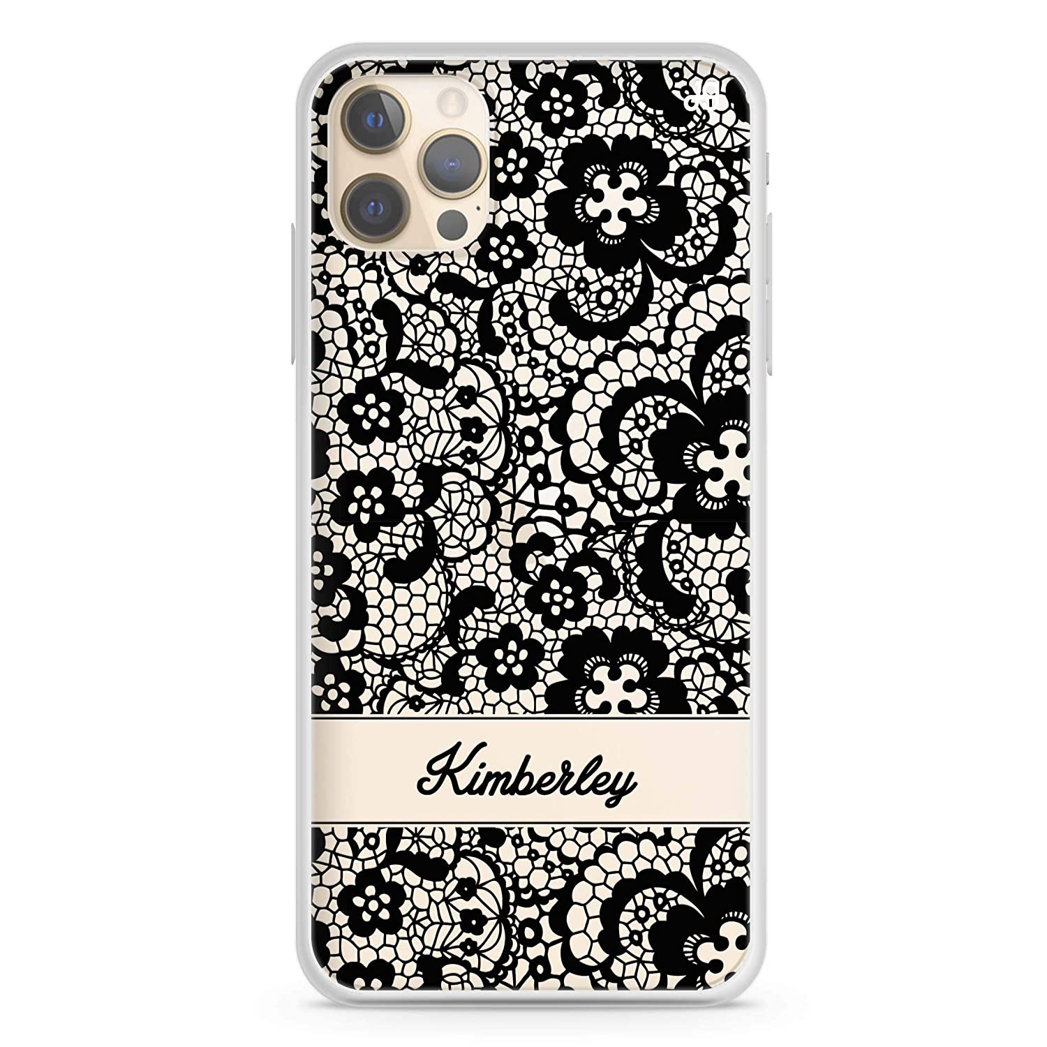 My Lace iPhone 12 Pro Clear Max Case Soft Year-end gift San Diego Mall