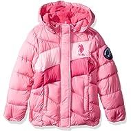 U.S. Polo Assn. Girls' Midweight Bubble Jacket