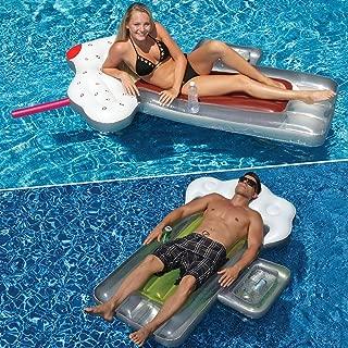 Swimline Beer Mug and Root Beer Mug Swimming Pool Floats Combo Pack