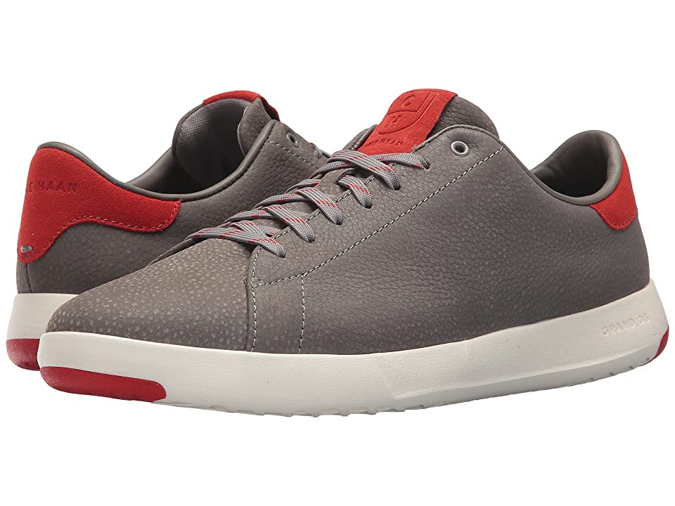 Cole Haan Grandpro Tennis (Ironstone Pebbled/Aura Orange/White) Men