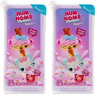 Num Noms Snackables Dippers Color Change Series 2 Blind Box Bundle Collectable Toy