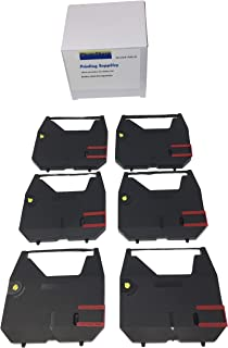 6 black KX-R series Electronic Typewriter Cassette Correction film ink ribbon cartridge replacement for Panasonic KX-R320 KX-R330 KX-R335 KX-R340 KX-R350 KX-R355 KX-R375 Dot Matrix printer AX10
