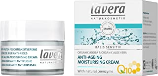 lavera Anti-Ageing Moisturising Cream Q10, Moisturises & Reduces Wrinkles, 50ml