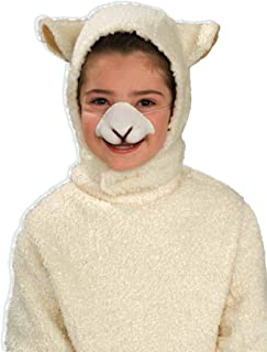 Forum Sheep Hood and Nose Child Set Costume