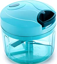 Ganesh Chopper Vegetable Cutter, Pool Green (725 ml)