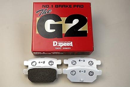 G1ブレーキパッド スバル レガシィ BP5 BL5 (2.0GT 2.0GTspecB) H15,5~ dp355 リア DSPEED