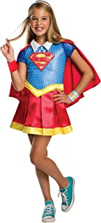 Rubie's Costume Kids DC Superhero Girls Deluxe Supergirl Costume, Small