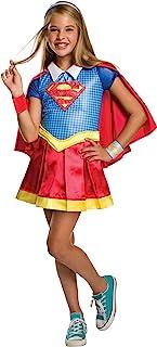 Rubie's Costume Kids DC Superhero Girls Deluxe Supergirl Costume, Medium