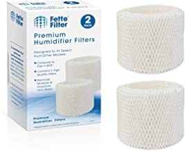 Fette Filter – Humidifier Wicking Filters Compatible with Vicks & Kaz. Compare to Part # WF2 (2-Pack)