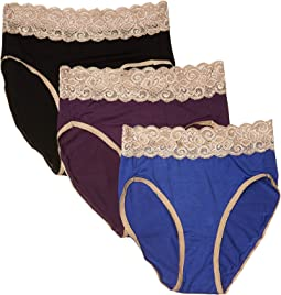 High-Waist Postpartum Underwear & C-Section Recovery Maternity Panties 3-Pack