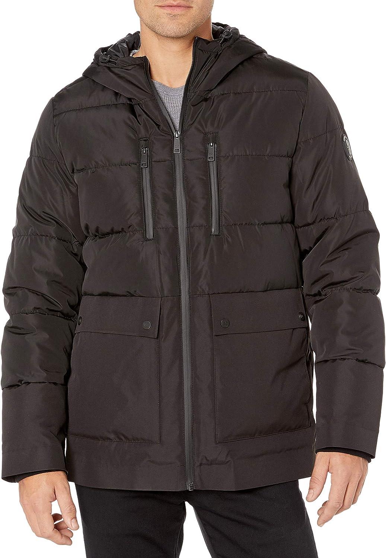Kenneth Cole New York Lowest price challenge Men's unisex Jacket Down Hooded Alternative