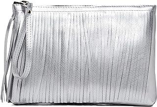 Gum Women's BC4012 Silver Pvc Clutch