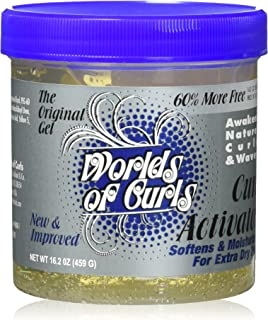 Worlds of Curls Curl Activator for Extra Dry Hair, 16 Ounce