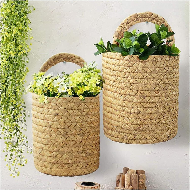Hanging Super intense SALE Flower Phoenix Mall Pots Household Basket Woven Plant Storage