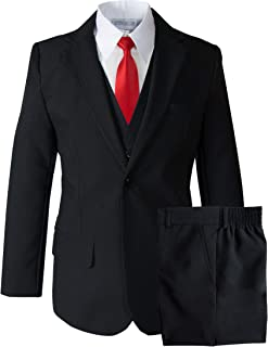 Big Boys' Modern Fit Dress Suit Set