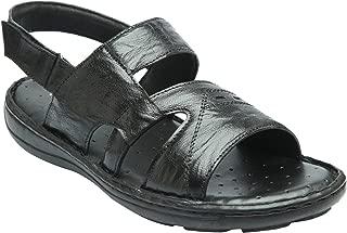 Heels & Shoes Men's Soft Leather Sandals - Brown