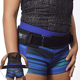 BackWonder SI Joint Belt By GNR – Sacroiliac Belt Supports Pelvis, Lower Back, Reduces Sciatica Nerve & Lumbar Pain – Comfortable SI Brace For Women & Men With Offset Buckle For a Better Fit - 4 Sizes