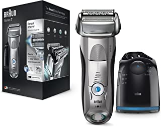 Braun 7899CC Wet and Dry Premium Electric Shaver (Silver)