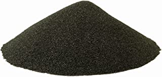 BLACK BEAUTY Abrasive Blast Media Fine Abrasive 20/40 Mesh Size for use in Sandblast Cabinet - 25 LBS