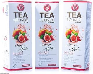 Teekanne Tealounge Kapseln - Sweet Apple No. 821 Früchtetee 3x 8 Kapseln