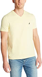 Nautica Men's Short Sleeve Solid Classic Fit V-Neck T-Shirt