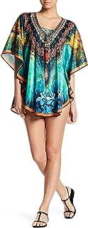 Caftan Long Kaftan Casual Summer Bohemian Lounger Dress Printed Coastal Resort Style Bathing Suit Bikini Swimsuit Cover Up