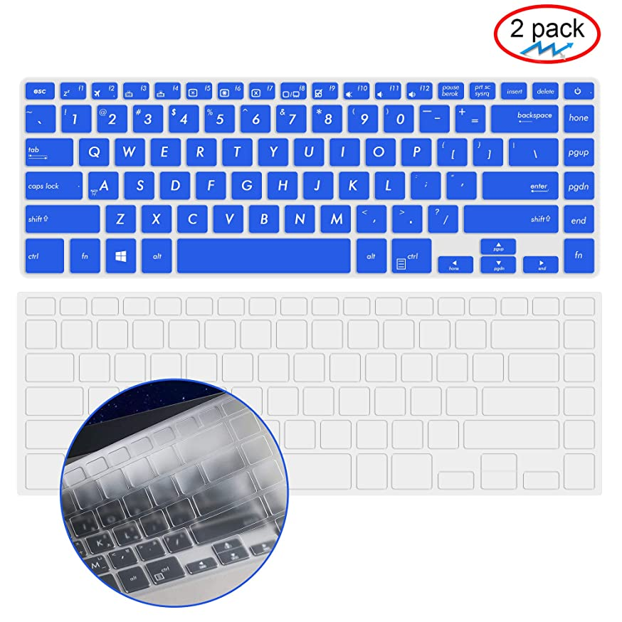 Ultra Thin Clear TPU Keyboard Cover for ASUS VivoBook F510UA | ASUS VivoBook S510 14