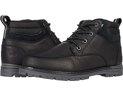 TOMS Hawthorne 2.0 (Black Waterproof Leather) Men