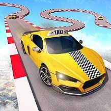 Pro Taxi Stunts Crazy Car Rush Simulator: City Cab Ramp Car Driving & Racing Games