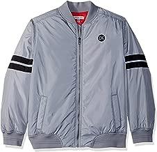 Calvin Klein Big Boys' Varsity Track Jacket