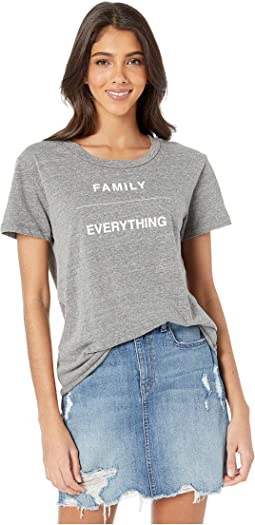 "Dakota ""Family/Everything"" Tee"