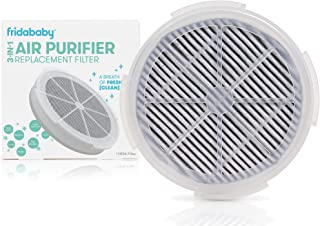 FridaBaby Replacement Filter for 3-in-1 Air Purifier with activated Carbon Filter To Remove Odors, Air Pollution & More