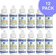 Cellfood Liquid Concentrate, 1 oz. Bottle (Pack of 12)- Original Oxygenating Formula Containing Seaweed Sourced Minerals, Enzymes, Amino Acids, Electrolytes, Superior Absorption- Gluten Free, GMO Free