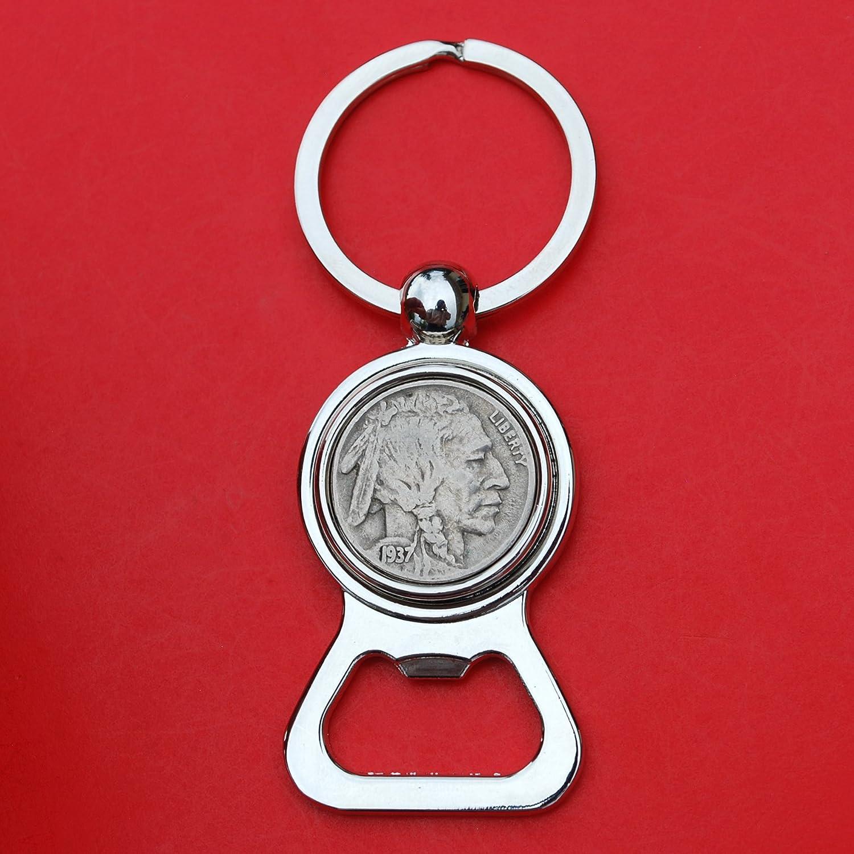 US 1937 Indian Head Buffalo famous Nickel 5 Tone Key Coin Regular dealer Cent C Silver