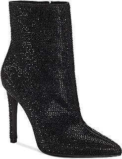 Jessica Simpson Womens Pelina 2 Fabric Pointed Toe, Black Glitter, Size 8.5