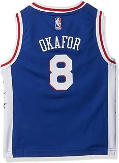 Outerstuff NBA Philadelphia 76Ers-Okafor Kids Replica Player Jersey-Road, Small(4), Blue