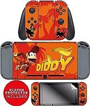 Controller Gear Nintendo Switch Skin & Screen Protector Set - Joy-Con & Console - Donkey Kong -