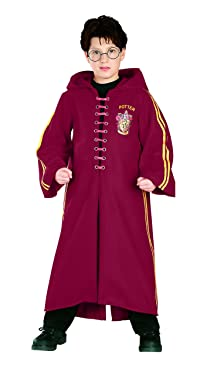 Deluxe Quidditch Robe Kids Costume - Small