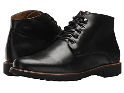 Massimo Matteo 5-Eye Chukka Boot (Black) Men
