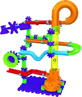The Learning Journey Techno Gears Marble Mania STEM Construction Set – Catapult Marble Run (80+ pieces) – Learning Toys & Gifts for Boys & Girls Ages 6 Years and Up
