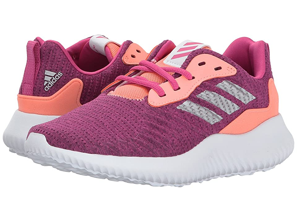 adidas Kids Alphabounce RC J (Big Kid) (Bahia Magenta/Silver Metallic/Sun Glow) Girls Shoes