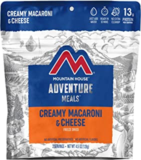 Mountain House Creamy Macaroni & Cheese Freeze Dried Backpacking & Camping Food