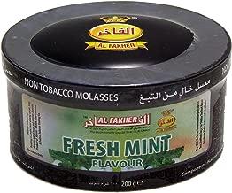 Al Fakher Herbal Shisha Mint Hookah Shisha Molasses Al Fakher 200gr Jar