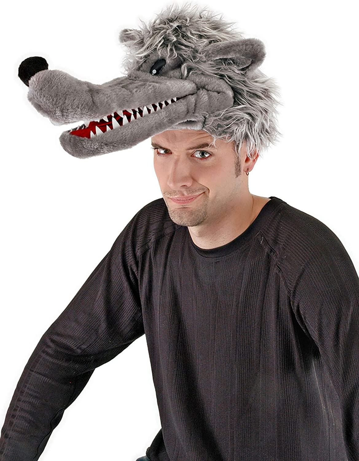 Max 54% OFF Big Bad Wolf Plush Costume Puppet and Adults Luxury goods Kids for Hat
