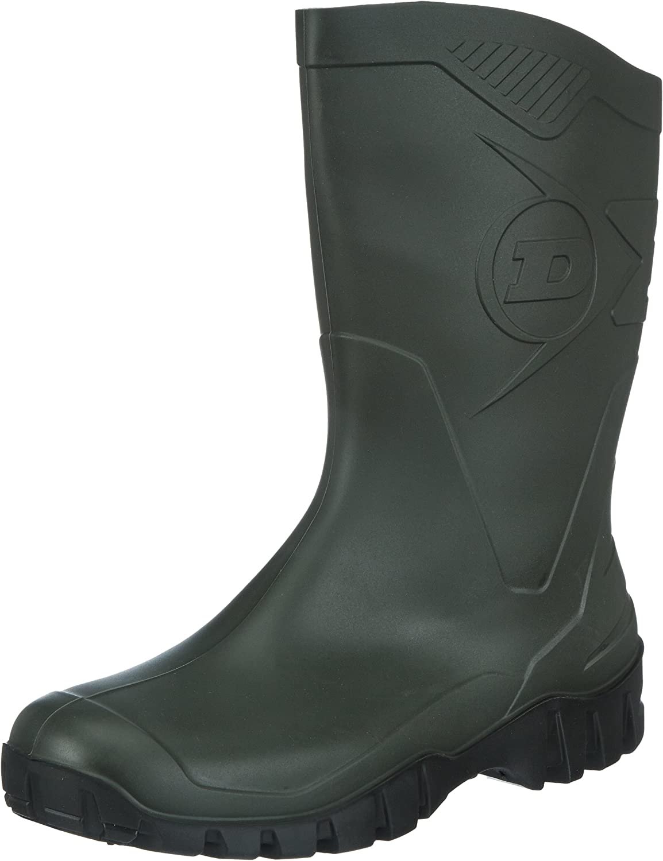Dunlop Unisex 100% quality warranty Max 41% OFF Dee K580211 PVC Womens Mens Wellington Boots Rain